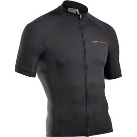 Northwave Force Koszulka z krótkim rękawem Mężczyźni, czarny